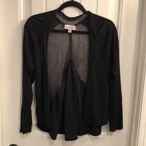Black light sweater cardigan